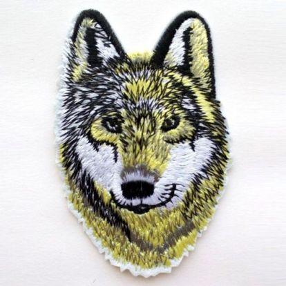 Термическая нашивка Волк