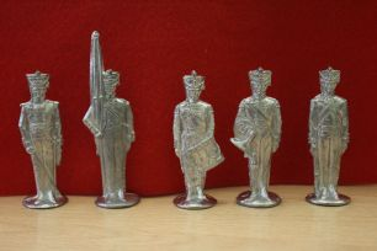 Солдатики оловянные Русская армия 1812 год